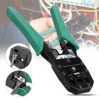 RJ45 Réseau Câble Pince à Sertir Ethernet LAN Sertissage Coupeur Plier Outil FR