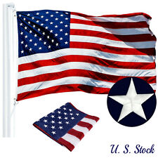 2x3 ft 3x5 5x8 ft 6x10 ft American Flag EMBROIDERED Stars Stripes Brass Grommets