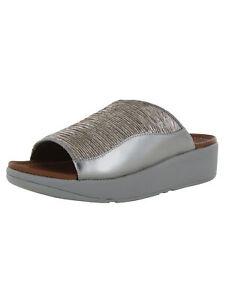 Fitflop Womens Myla Glitz Slide Sandal Shoes