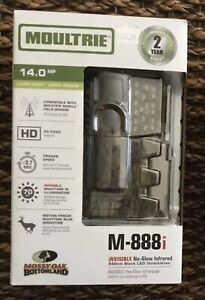 New Moultrie M-888i 14MP Mini Infrared Trail Game Camera MCG-13068 Deer Hunting