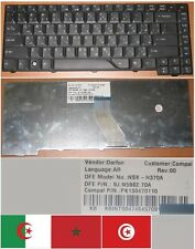 CLAVIER QWERTY ARABE ACER AS5930 5930 5330 NSK-H370A 9J.N5982.70A Noir
