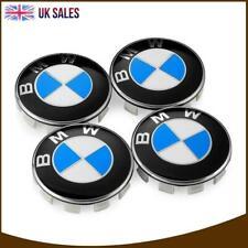 4X Wheel Centre Caps Hub Cover BMW 1 3 5 7 Series X6 M3 Z4 E46 E90 E30 68mm UK