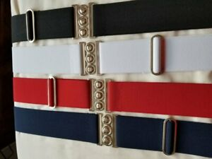 NURSE BELT nurses belts sizes  s - xxl with adjuster. retro 50's 60's Made in UK