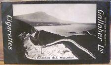 BLACKSOD BAY Mulranny Westport Mayo Cig Card GALLAHER IRISH VIEWS 297 Ireland