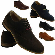 Faux Suede Lace Up Desert Boots for Men