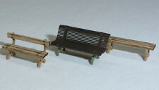 H0 Modelltec /IGRA 60 1310 19: Lasercutbausatz versch. Bänke für 9 Stück