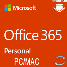 Microsoft Office 365 Personal - 1 PC / MAC 1 Jahr - MS Office 2016 EU ONLY