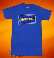 New Blockbuster Never Forget Graphic Mens Vintage T-Shirt