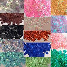 Sequins Daisies / Flowers / 6 Petals Various Colors 100 pieces