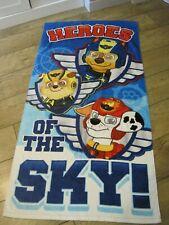 """Paw Patrol Hero's Of The Sky"" Kids /  Childrens   bath towel"