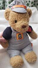 """✔️ 2003 Gullane Thomas Limited Thomas & Friends Plush Thomas Engineer 10"""" Bear"""