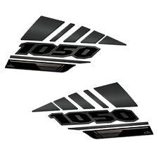ADESIVI 3D PROTEZIONI LATERALI 01 COMPATIBILI CON SUZUKI V-STROM 1050 XT NERO