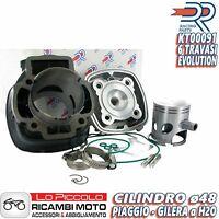 GRUPPO TERMICO CILINDRO DR 70cc PIAGGIO ZIP SP NRG POWER EXTREME MC2 MC3 DD LC