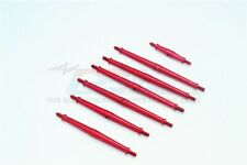 TRAXXAS TRX-4 ALUMINUM TURNBUCKLES -7PC SET-RED
