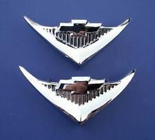 55 Chevy Under Taillight V8 Emblems *NEW 1955 Chevrolet