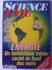 SCIENCE ET VIE  n°931 de 04/1995;  Energie du fond des mers