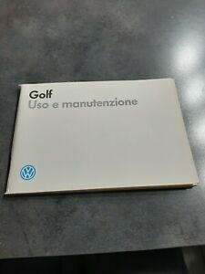 Libretto Uso E Manutenzione Volkswagen Golf Mk2