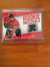 2007-08 Upper Deck Jonathan Toews Rookie Materials (Black Jersey)