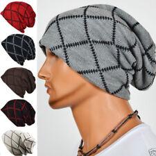 Knit Winter Warm Women Men Beanie Hat Oversize Slouchy Baggy Unisex Knit Ski Cap