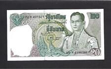 Thailand p-84 , UNC , 20 Baht, 1971 - 1981 , Signature No.47