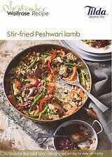 Recipe Card: Stir-Fried Peshwari Lamb (Waitrose)