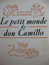 1952 Le petit monde de Don Camillo Guareschi humour caricatures petits diables