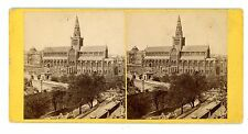 Glasgow Scotland -CATHEDRAL FROM THE SOUTH-EAST- G.W. Wilson Stereoview No. 38