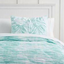 Nwt Pottery Barn Teen Whimsical Waves Comforter Twin/ Xl Pale Seafoam Tie Dye