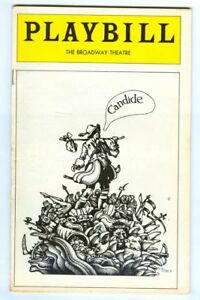 Vintage 1975 CANDIDE at Broadway Theatre PLAYBILL! Charles KIMBROUGH Mark BAKER!