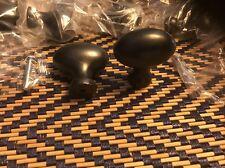 13 Solid Matte Black Oblong Cabinet Drawer Knobs Pulls Oval Knobs Cabinet Pulls