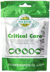 CRITICAL CARE Herbivores Rabbits Guinea Pig Pets Recovery Food Anise 5 oz