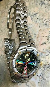 EBEL SPORTWAVE Limited edition Swiss Two Tone Men's Divers WATCH