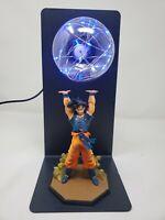 Dragon Ball Z Goku Son Genki Dama Spirit Bomb Statue Figure LED Night Lamp
