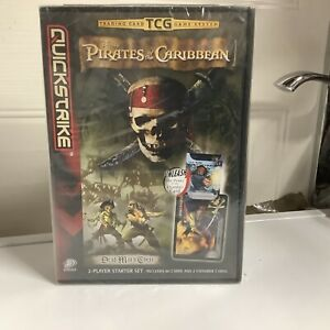 PIRATES OF THE CARIBBEAN - TRADING CARD GAME - 2 PLAYER STARTER SET New Sealed