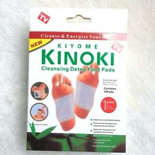 100 Cleansing Detox Foot Kinoki Pads Cleanse Relieve Energize Your Body Organic