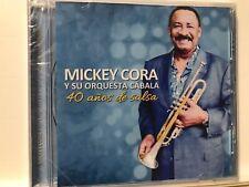 RARE cd SALSA MICKEY CORA y Cabala 40 AÑOS Que Seas Mi Esposa Mi Bomba Es