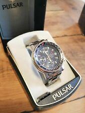 Pulsar V657 8040 PJN series mens gents watch divers sports dress chronograph