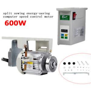600W Energy Saving Brushless Servo Motor f/ Industrial Sewing Machine Split Type