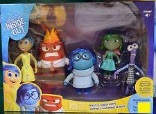 Disney Pixar Inside Out Riley's Emotion Set of 5 Figure