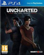 Uncharted el legado perdido PS4 Nuevo Sellado
