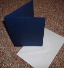 15 Navy A6 Card Blanks and White Envelopes Only £1.90!