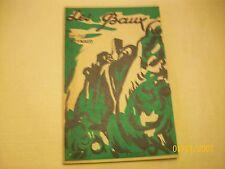 LES BAUX  --provence -  j.m.reynaud - couverture  illustrée par serra ...