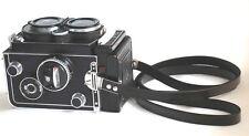(Black) Rolleiflex Fit Scissor Strap for Rolleiflex 3.5f, 2.8f, T  - BRAND NEW