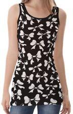 Markenlose ärmellose Damenblusen, - tops & -shirts mit Schleifen
