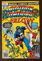Captain America and Falcon 218. Beautiful Copy.