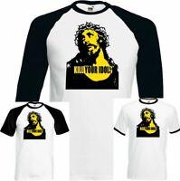 Kill Your Idols T-Shirt Guns & Roses As Worn By Axl Rose Mens Rock Music Guitar