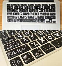 Creative Macbook Air Pro Vinyl Sticker Decal keyboard Button Sticker 13''