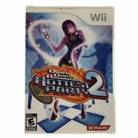 Konami Dance Revolution: Hottest Party 2 (Nintendo Wii, 2008) Complete w/Manual
