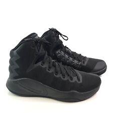 2016 Nike Zoom Black Zig Zag Hyperdunk High Top Basketball Sneakers Mens US 10