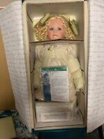 Linda Valentino Michel Porzellan Puppe 55 cm. Ovp & Zertifikat. Top Zustand